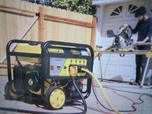 Champion 100485 Portable Generator - Starting 11500W Running 9200W -New Open Box
