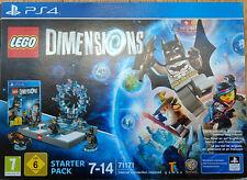 LEGO Dimensions 71171 Starter Pack PS4 Playstation 4, NEU (OVP nachversiegelt)