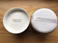Estee Lauder BEAUTIFUL Perfumed Body Powder 3oz / 85g  NEW With Puff