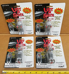 Lost in Space Robot B-9 Talking Keychain ( 4 - Pack Set ) 1997 NEW SEALED TOYS
