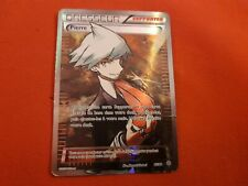 DRESSEUR PIERRE 95/98 SUPPORTER FULL ART REVERSE HOLO CARTE POKEMON RARE VF FR