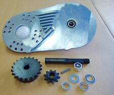 Jackshaft Kit - Mini-Bike, Mini Chopper, Go-Kart, Bolt on, #40/41 Chain 16t, 10t