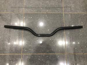 BMX Bike Handle Bars 750mm Wide 22.2mm Clamp - Black