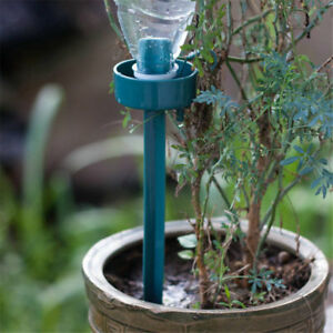 Automatic Self-Watering Device Drip Water Spike Flower Plant Watering T*wk
