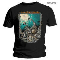 Official T Shirt A PERFECT CIRCLE Rock Metal 'The Depths' Shipwreck All Sizes