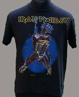 Iron Maiden Shirt Vintage Official Somewhere on Tour North America 1986