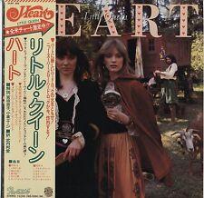 Heart - Little Queen JAPAN LP with OBI and LYRIC SHEET