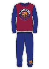 FC Barcelona Barca Boys Girls Cuffed Pant Pyjamas Pjamas Pj's 4-5 5-6 Years