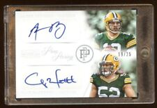 2013 NATIONAL TREASURES AARON ROGERS / CLAY MATTHEWS DUAL AUTO /25 PACKERS HOF ?
