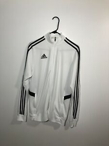 adidas Tiro 19 Training Jacket Men's White/Black Medium