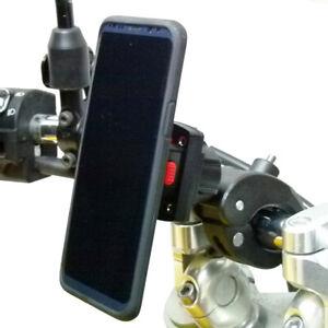 Robuste Claw Moto Support & Tigra Fitclic Étui Pour Samsung Galaxy S10 Plus