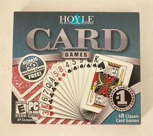 Hoyle 18 Classic Card Games + Bonus 50 Solitaire Games (PC CD-ROM Windows XP)