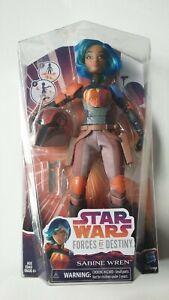 """Star Wars Forces of Destiny Sabine Wren 11""""-12"""" Action Figure Rebels Sealed"""