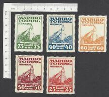 Maribo-Torrig Railway stamps MNH (5)