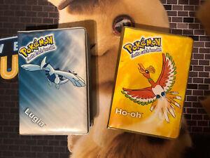Pokémon Karten Binder Album Ordner Lugia & HO-OH TOYSITE Nintendo Original 2000