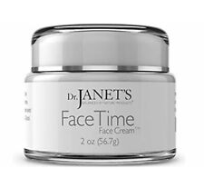 New Dr Janets Face Time Face Cream 2 Oz Nature Products Anti Aging Day Night