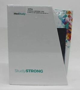 MEDSTUDY 2CP19 Internal Medicine Core Curriculum 18th Edition Books 1-5 NEW