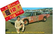 CD_1561 #12 Bobby Allison  1970 Dodge Charger  1:24 scale decals