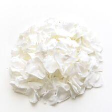White rose petals NOT silk, wedding confetti decoration, preserved petals