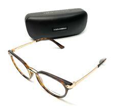 Dolce & Gabbana DG 5043 502 Havana Women's Authentic Eyeglasses Frame 50-19