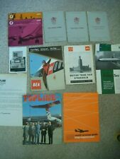 More details for large qty bea 1960's/70's ephemera training manuals/inflight& staff magazine etc