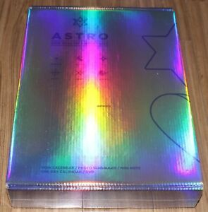 ASTRO 2019 SEASON'S HOLIDAY Ver. GREETINGS CALENDAR + DVD + FOLDED POSTER NEW