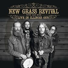 NEW Grass Revival with Sam Bush-Live in Illinois 1978 CD NUOVO