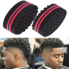 Magic Sponge Wave Barber Hair Brush For Dreads Afro Locs Twist Curls Coil Tool