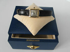 Genuine 1930s Boucheron Solid Gold 14 or 18K watch serial number 85054