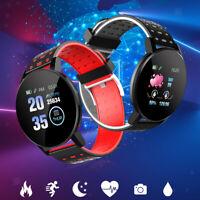 Sport Smart Watch Armband BT Fitness Track Herzfrequenzmesser Push Informationen