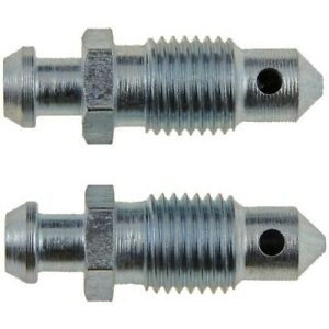 13901 Dorman Brake Bleed Screws Set of 2 Front or Rear New for Chevy 300 Pair
