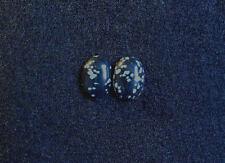 Obsidiana copo de nieve Cabujón, 18 mm x13mm, 16.15cts, Ref BB-F6 Oval
