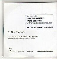 (CO100) Paul Cook & The Chronicles, Six Places - 2011 DJ CD