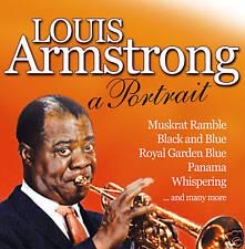 CD Louis Armstrong A Retrato