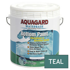 Aquagard Waterbase BOAT MARINE ANTI FOULING BOTTOM PAINT 1 GALLON TEAL