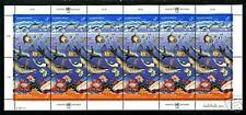 United Nations Vienna  1992  Scott #127-128  MNH Sheet