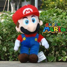 "Mario 12"" Super Mario Bros Run Plush Toy Cuddly Stuffed Animal Nintendo Doll"