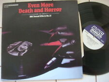 Even More Death and Horror BBC Sound Effects No. 27  Vinyl LP