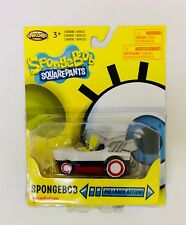 NIB SpongeBob Squarepants Pull Back SpongeBob Hot Rod Boat Vehicle Toy