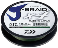 1. Daiwa J Braid X4 270M - Dark Green - SALE