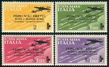 Francobolli del Regno d'Italia dal 1920 al 1943 nuovo non linguellato