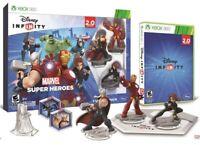 Disney Infinity 2.0 Marvel Super Heroes Xbox 360 Starter Pack AVENGERS GAME NEW
