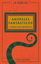 Animales Fantasticos y Donde Encontrarlos (Paperback or Softback)
