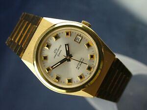 Jaquet Girard Automatic Vintage Watch 1970s New Old Stock .Cal ETA 2783 25 Jewel