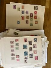 More details for poland used stamps 253 leaves vintage modern from dif collections