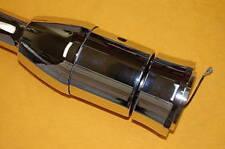 """32"""" Chrome Steering Column Hot Rod Tilt Manual GM No Key New Floor Shift"""
