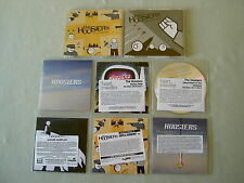 THE HOOSIERS job lot of 8 promo CDs Cops & Robbers Bumpy Ride Goodbye Mr A