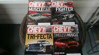 Chevy High Performance magazine May Jun Jul Aug 2017 lot of 4 magazine
