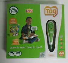 LEAP FROG TAG READING SYSTEM + 3 Extra Books - USED - FREE SHIPPING!