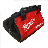 "Milwaukee M12 12V Fuel 3-Tool Small 14"" 350mm Contractor Carry Tool Kit Tote Bag"